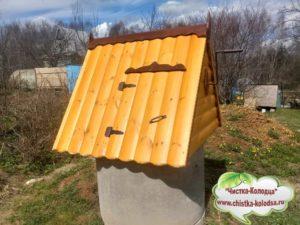 домики  для колодца в Чеховском районе и Чехове